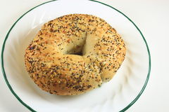 Sesame Bagel Royalty Free Stock Photos