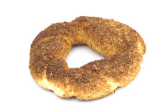 Sesame bagel Royalty Free Stock Photography
