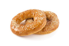 Sesame bagels Royalty Free Stock Image