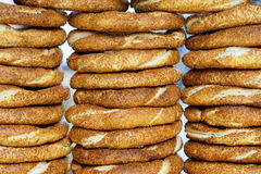 Sesame bagels Royalty Free Stock Photography