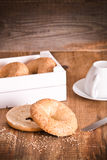 Sesame bagels. Royalty Free Stock Photography