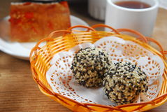 Sesame ball Stock Images