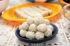 Sesame balls Stock Images