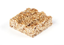 Sesame bar with honey Stock Image