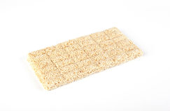 Sesame bar with honey Royalty Free Stock Photography