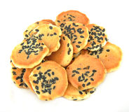 Sesame biscuit Royalty Free Stock Image