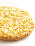 Sesame biscuit. Close up of a sesame biscuit Royalty Free Stock Images
