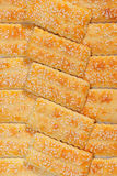 Sesame biscuits Royalty Free Stock Photo