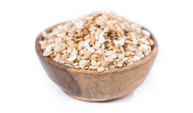 Sesame in a bowl (isolated) Royalty Free Stock Image