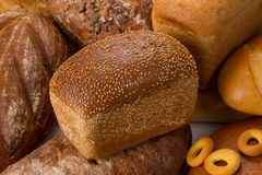 Sesame bread Stock Images