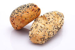 Sesame bread roll Royalty Free Stock Photo