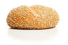 Sesame bread roll (Sesambroetchen) Royalty Free Stock Photo