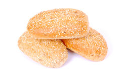 Sesame bread rolls Stock Images
