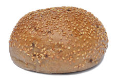 Sesame bread Stock Photos