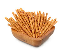 Sesame breadsticks Stock Images
