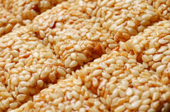 Sesame brittle Royalty Free Stock Photography