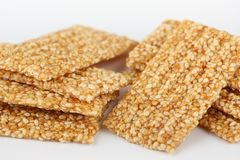 Sesame brittles Royalty Free Stock Image