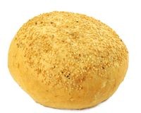 Sesame bun Royalty Free Stock Photography