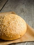 Sesame bun Royalty Free Stock Photo