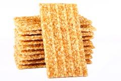 Sesame cakes Stock Photo