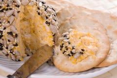 Sesame Cheese Ball Stock Image