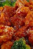 Sesame Chicken royalty free stock photos