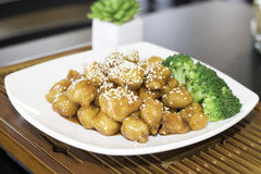 Sesame Chicken Royalty Free Stock Photo