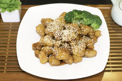 Sesame Chicken Royalty Free Stock Photography