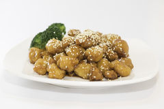Sesame Chicken Royalty Free Stock Image