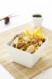 Sesame Chicken Noodle Salad Stock Images