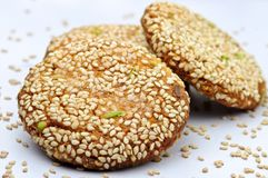 Sesame Cookie Stock Photography