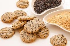 Sesame cookies Royalty Free Stock Photo
