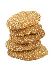 Sesame cookies Stock Photography
