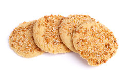 Sesame cookies Royalty Free Stock Images