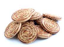 Sesame cookies Royalty Free Stock Photo