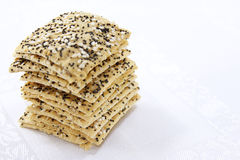 Sesame Crackers Stock Image