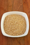 Sesame in dish Royalty Free Stock Image