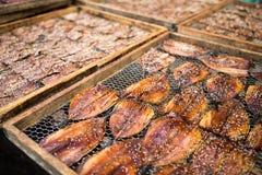 Sesame dried fish Royalty Free Stock Photos