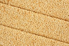 Sesame with honey Stock Images