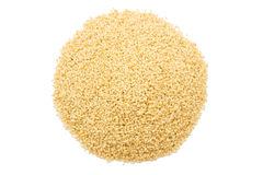 Sesame in isolate on white. Sesame (grain) in isolate on white background Stock Image