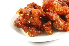Sesame Kung Pow Chicken Royalty Free Stock Images