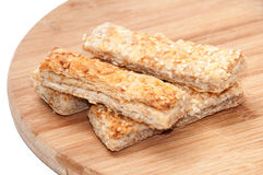 SESAME MEATLESS HEALTHY STICKS FOOD Stock Photography