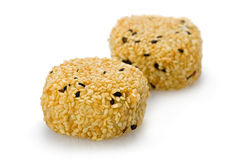 Sesame Mochi Royalty Free Stock Images
