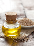 Sesame oil Stock Image