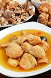 Sesame oil bearded tooth mushroom Stock Photos