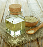 Sesame oil Royalty Free Stock Images