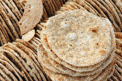 Sesame pancake Royalty Free Stock Photography