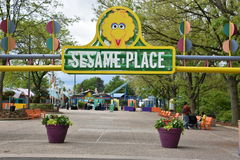 Sesame Place in Langhorne, Pennsylvania. USA Stock Images