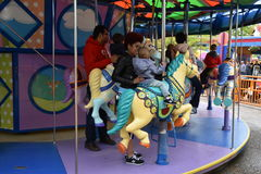 Sesame Place in Langhorne, Pennsylvania. USA Royalty Free Stock Photos