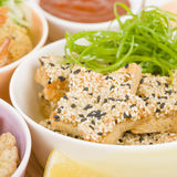 Sesame Prawn Toast Stock Photos